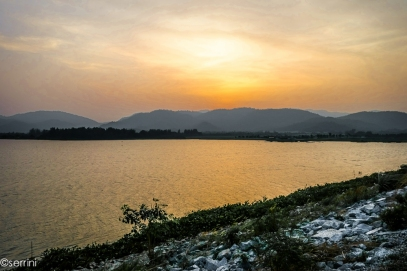 the resevoir of chonburi
