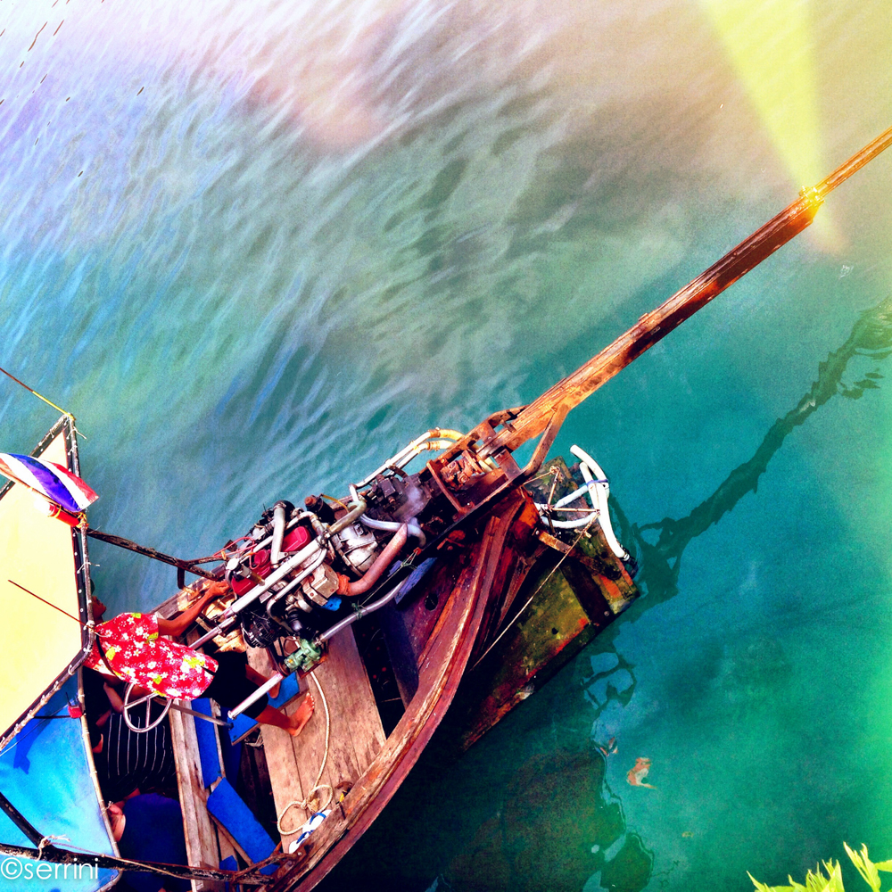 longtail boat thailand