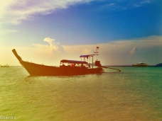 longtail boat kho pi pi