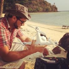 Kho pi pi resort drone